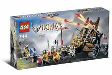 Lego 7020 Army of Vikings Heavy Artillery Wagon ** Sealed Box ** 7 Minifigs