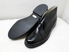 THOROGOOD MENS SHOES SZ 12 BLACK LEATHER ANKLE CHUKKA BOOT NITRO CREPE USA NEW