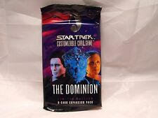 STAR TREK CCG DOMINION SEALED BOOSTER PACK OF 9 CARDS