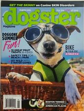 Dogster Aug Sept 2016 Bike With Your Dog Summer Fun Beach Park FREE SHIPPING sb