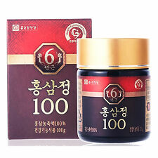 Chong Kun Dang 6Year old Korean Red Ginseng 100% Root Extract Deep Nutrition