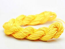 New 28M/roll(1mm)Chinese Knotting Nylon Thread Cord Wire Beading Bracelet X28