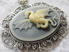 #JRK903 Dragon Kraken Wing Necklace Pendant Mystical Mythical Neverland Castle