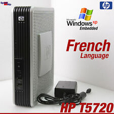 Computer Thin Client HP t5720 Windows XPe SSD 512mb rs-232 parallelo le français