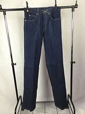 NWOT YSL YVES SAINT LAURENT MENS DARK BLUE SALVEDGE JEANS SIZE W31 L38