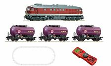 ROCO 51271 Ludmilla Start set digitale BR132 Minol treno Multimaus &