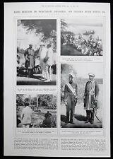 1st EARL SYDNEY BUXTON KING YETA III BAROTSELAND SOUTH AFRICA PHOTO ARTICLE 1916