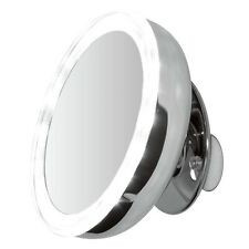 "ClearView 5"" LED Light Illuminated 5x Magnifying Mirror MLMIR100 Make Up Vanity"