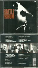 "CD - U2 : EN CONCERT LIVE "" RATTLE AND HUM "" / COMME NEUF - LIKE NEW"