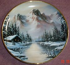 Franklin Mint Collectors Plate PEACEFUL SOLITUDE 1992