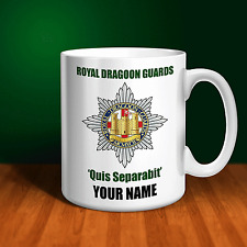 The Royal Dragoon Guards RDG Personalised Ceramic Mug Army Gift