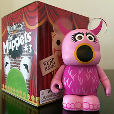 "DISNEY VINYLMATION 3"" MUPPETS SERIES 3 SNOWTH PINK COLLECTIBLE 2013 PARK FIGURE"
