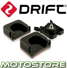 DRIFT HD ADHESIVE MOUNT KIT FLAT CURVED UNIVERSAL CLIP HD GHOST S MOUNTING PACK
