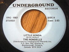 THE HONDELLS - LITTLE HONDA / CAT MOTHER & THE ALL NIGHT NEWS BOYS - GOOD OLD...