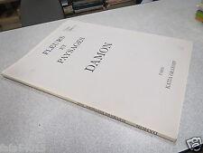 CATALOGUE DAMON FLEURS ET PAYSAGES DAMON PRAIS 1990 KATIA GRANOFF *