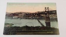 East Liverpool, Ohio and Ohio River, 1908, Valentine & Sons Publishing