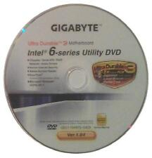 original gigabyte Mainboard Treiber CD DVD Intel GA-H61MA-D3V Win XP 7 Vista ~5