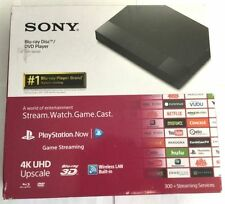Brand New Sony BDPS6500 Streaming 4K Upscaling 3D Wi-Fi Built-In Blu-ray Player