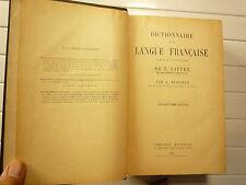 DICTIONNAIRE DE LA LANGUE FRANCAISE DE E LITTRE PAR A BEAUJEAN CHEZ HACHETT 1932