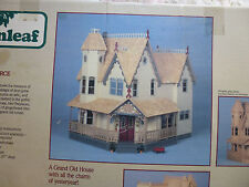 Pierce Vintage Victorian Dollhouse Kit by Greenleaf, NOS (box has been opened)