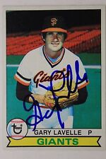 GARY LAVELLE San Fran Giants Autographed 1979 Topps #311 Signed Card 16F