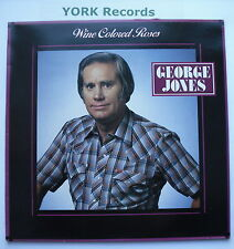 GEORGE JONES - Wine Colored Roses - Excellent Condition LP Record Epic EPC 57040