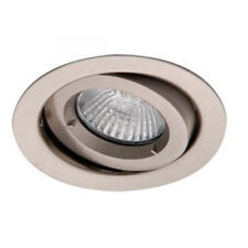 GU10 Spot Ceiling Down Light Brushed Chrome 240V High Quality Pack Of 6 New