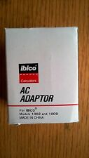 Ibico AC Adaptor Power Supply Model 40500 for Models 1002 and 1009