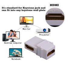 90 Degree angle HDMI female to female Keystone Jack Coupler Insert  Adapter