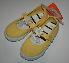 New Gymboree Daisy Skimmers Shoe Shoes Size 7 Toddler Girl NWT Flower Shower