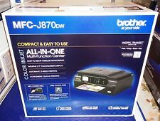 "New Brother MFC-J870DW Wireless All-In-One Inkjet Printer NFC 2.7"" LCD Airprint"