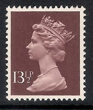 GB 1980 sg X945 13 1/2p Purple Brown photogravure phosphorised paper MNH