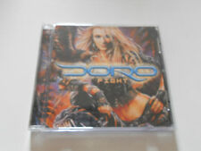 "Doro ""Fight"" 2002 cd  SPV records Warlock"