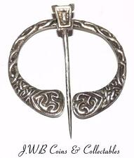 Vintage Celtic / Scottish Silver Plaid Brooch 1952 Robert Allison