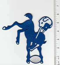 Indianapolis/ Baltimore Colts Throwback Old Logo 6' high Patch (sew or iron on)