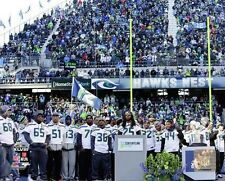 2014 Super Bowl XLVIII Victory Parade Seattle Seahawks team LICENSED 8x10 photo