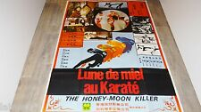 LUNE DE MIEL AU KARATE Honeymoon Killer ! affiche cinema karate kung-fu 1974