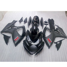 Opar Injection 06 07 For Suzuki GSXR 600-750 K6 K7 Fairing Bodywork Matte Black