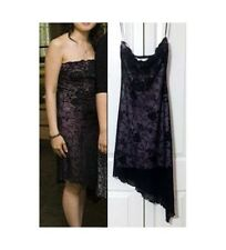 Fairweather Little Black Lace Sleeveless Bodycon Stretch Dress XS