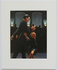 "Rumba In Black by Jack Vettriano Mounted Art Print 10"" x 8"" Dancers"