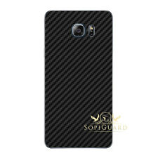 Carbon Fiber Skin Rear Back Film Protector for Samsung Galaxy Note 5