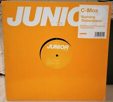 "C-MOS - BURNING DIMENSIONS BRG 046 2002 JUNIOR LONDON RECORDS 12"" VINYL SINGLE"