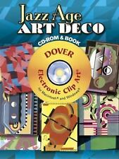 Jazz Age Art Deco CD-ROM and Book (Dover Electronic Clip Art) by Serge Gladky