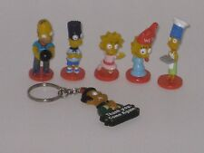 THE SIMPSONS MINI BOBBLE HEADS TINY BART HOMER LOT OF 6