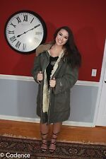WW2 Swedish Army Vintage Parka Coat Sheepskin Shearling Sweden Larsson Cabourn