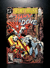 COMICS: DC: Secret Origins #43 (1980s), Hawk & Dove/Chris KL-99 - RARE (flash)