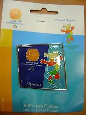 MASCOT PROTEAS - PARALYMPIC METALLIC MAGNET ATHENS 2004 PARALYMPIC GAMES
