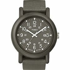 Timex TW2P62500, Originals Camper Nylon Watch, Indiglo, Date, TW2P625009J