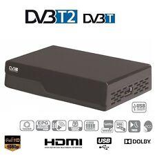 Décodeur TNT Haute Définition DVB-T2 récepteur terrestre HD Compatible MPEG-4