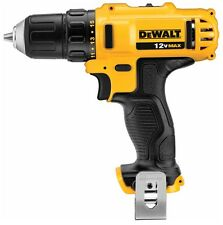 "New Dewalt DCD710B 12 Volt 12V Max 3/8"" 2 Speed Drill Driver W/ Belt Clip Li-Ion"